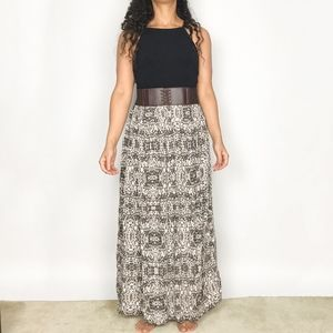 🌟3/$30🌟 Leopard Animal Print Maxi Midi Skirt